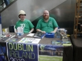 Bid Team Member and Chocolate Provider Malcolm, and Irish Promotions Head Brian