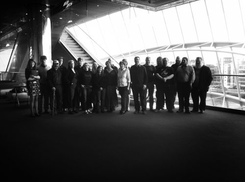Visit to the Dublin Convention Centre