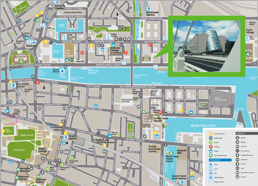 Dublin Airport Hotels Map