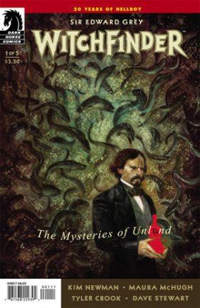 Irish Fiction Friday: Sir Edward Grey - Witchfinder (Maura McHugh and Kim Newman)