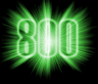 800 Supporters!