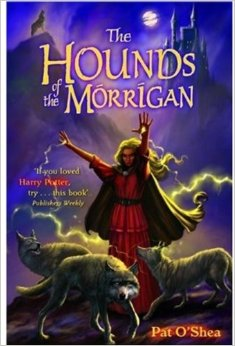 Irish Fiction Friday: The Hounds of the Morrigan by Pat O'Shea