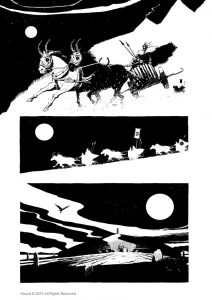 Page from Hound by Paul Bolger