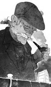Aois Fir illustration by Olivia Golden