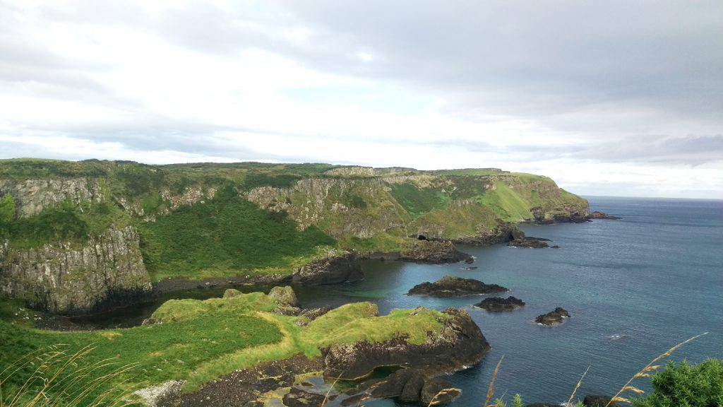 Photo of the Clifftop Walk towards Giant's Causeway