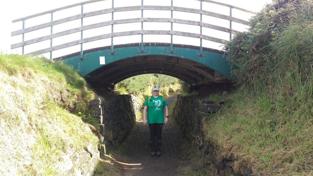 Photo of the bridge under Portballintrae Golf Club