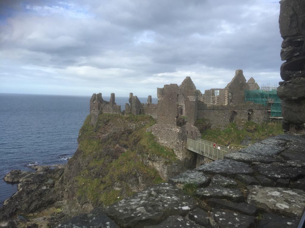 View of Dunluce Castle