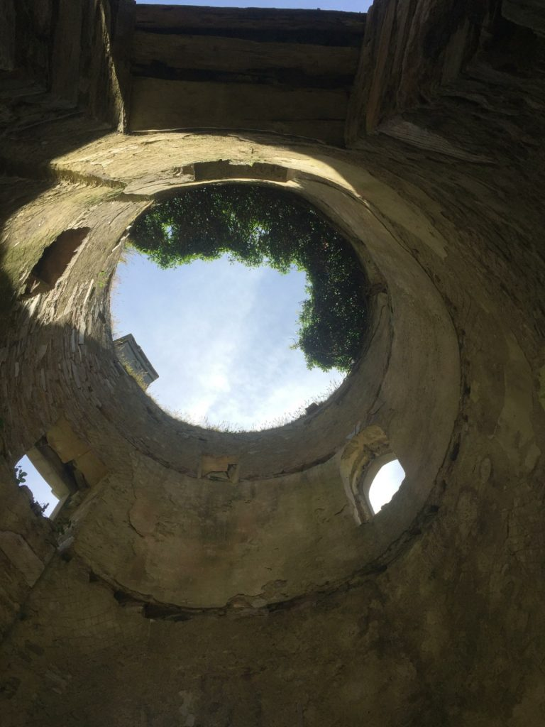 Picture from Bottom of Roofless Tower