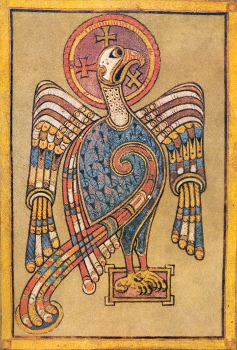 Book of Kells Eagle