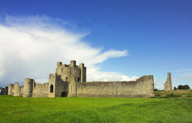 Photo of the exterior of Trim Castle