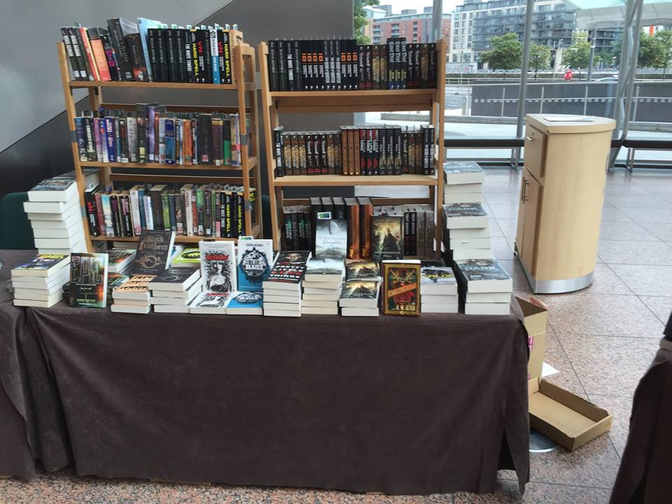 The table of books at DCC