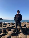 Sean Williams at Giant's Causeway