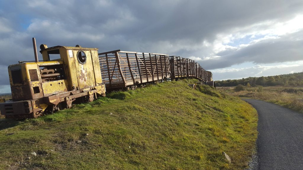 Photo of bog train