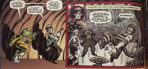 scene from The Widow's Curse comic