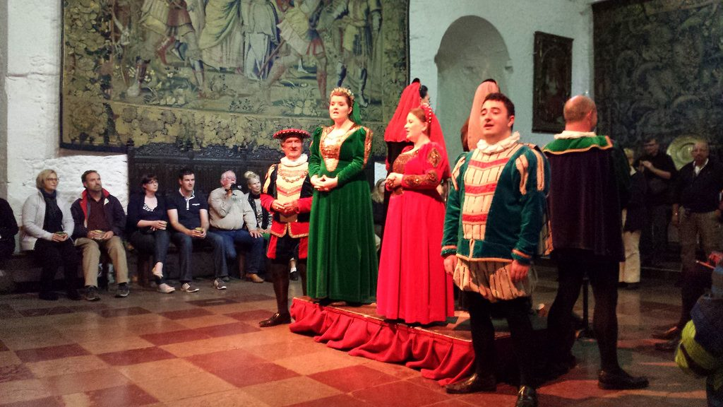 Photo of Medieval Banquet musicians