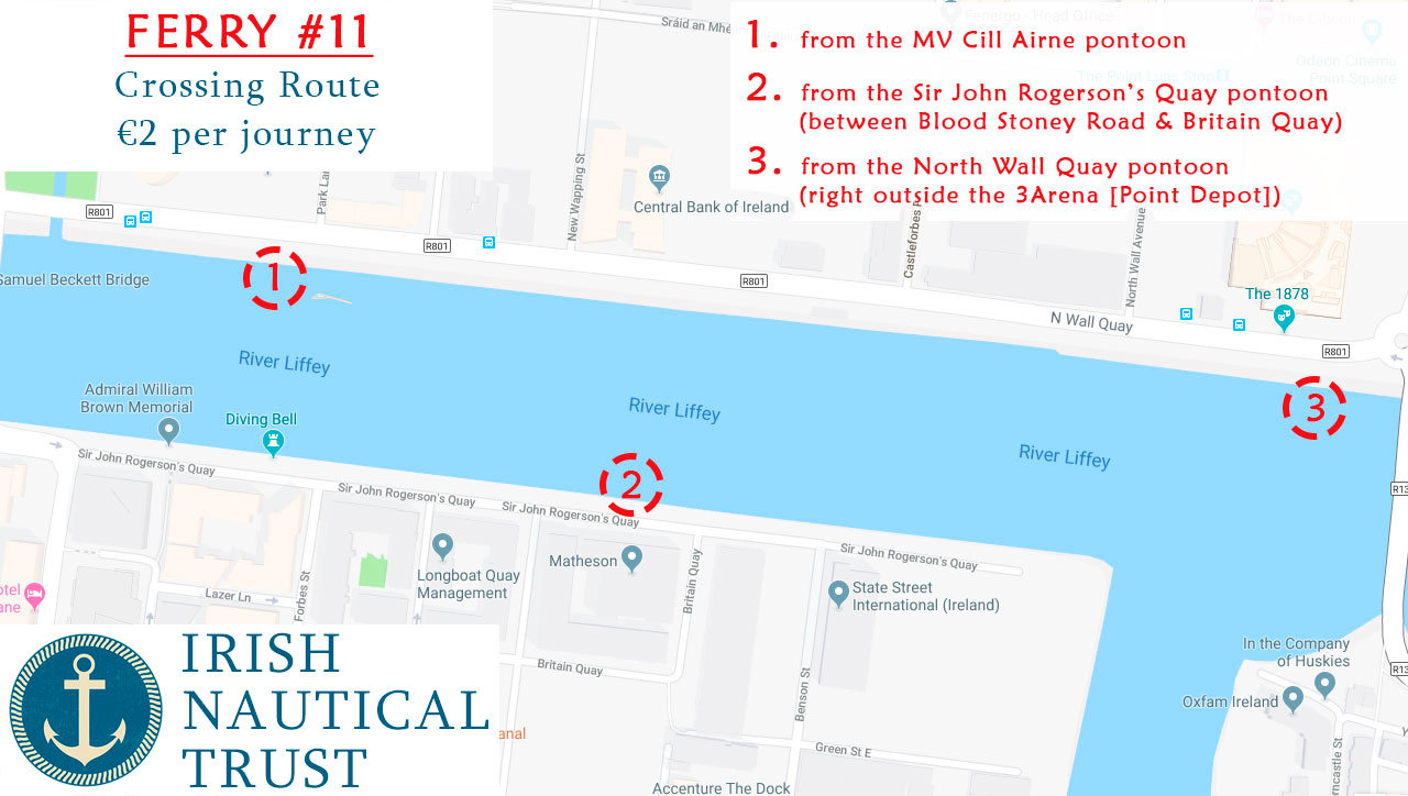 Liffey Ferry Route