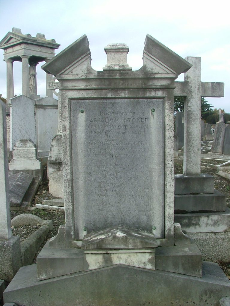 Photo of Sir William Thornley's grave
