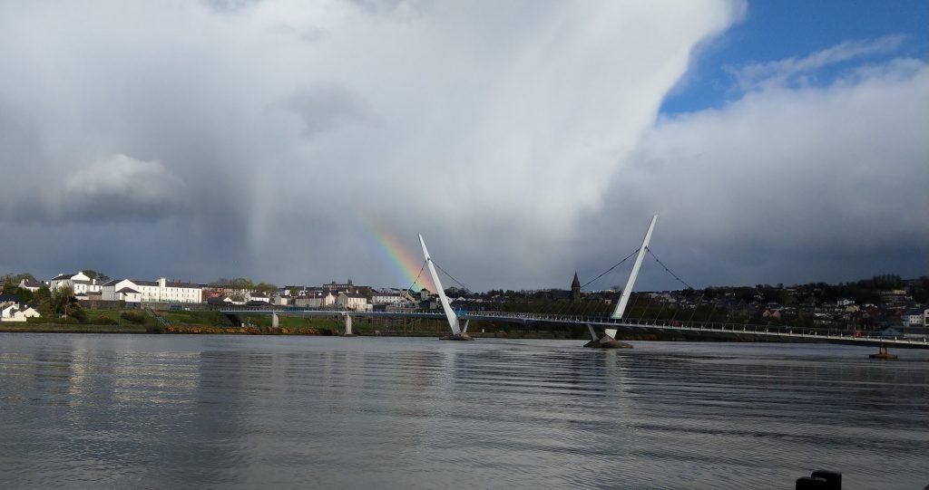Photo of the Peace Bridge