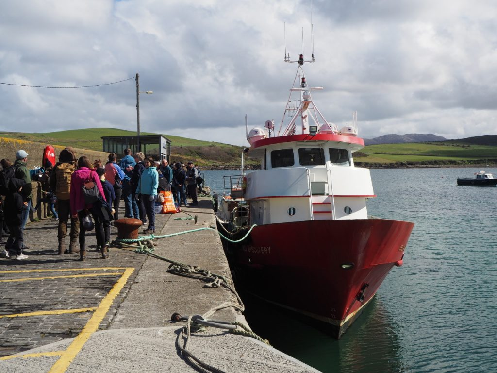 Photo of the Inishboffin Ferry
