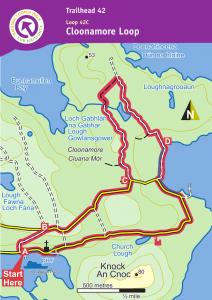 Map of Cloonamore Loop