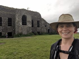 Photo of Emma at the Hellfire Club