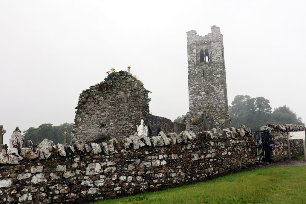 Photo of the church on the Hill of Slane
